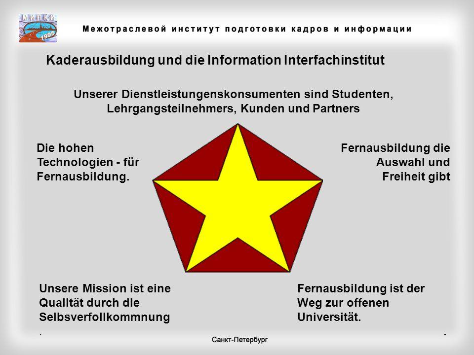 Kaderausbildung und die Information Interfachinstitut