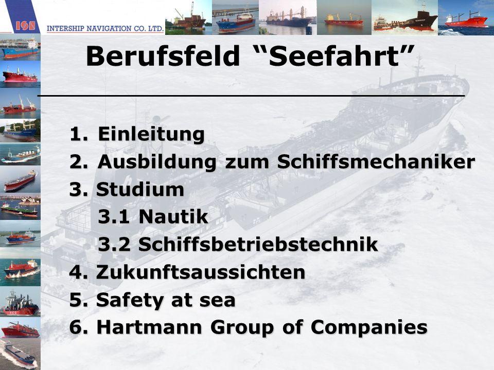Berufsfeld Seefahrt