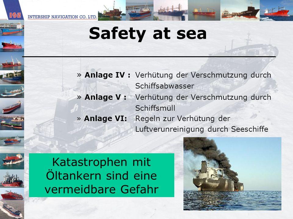Katastrophen mit Öltankern sind eine vermeidbare Gefahr