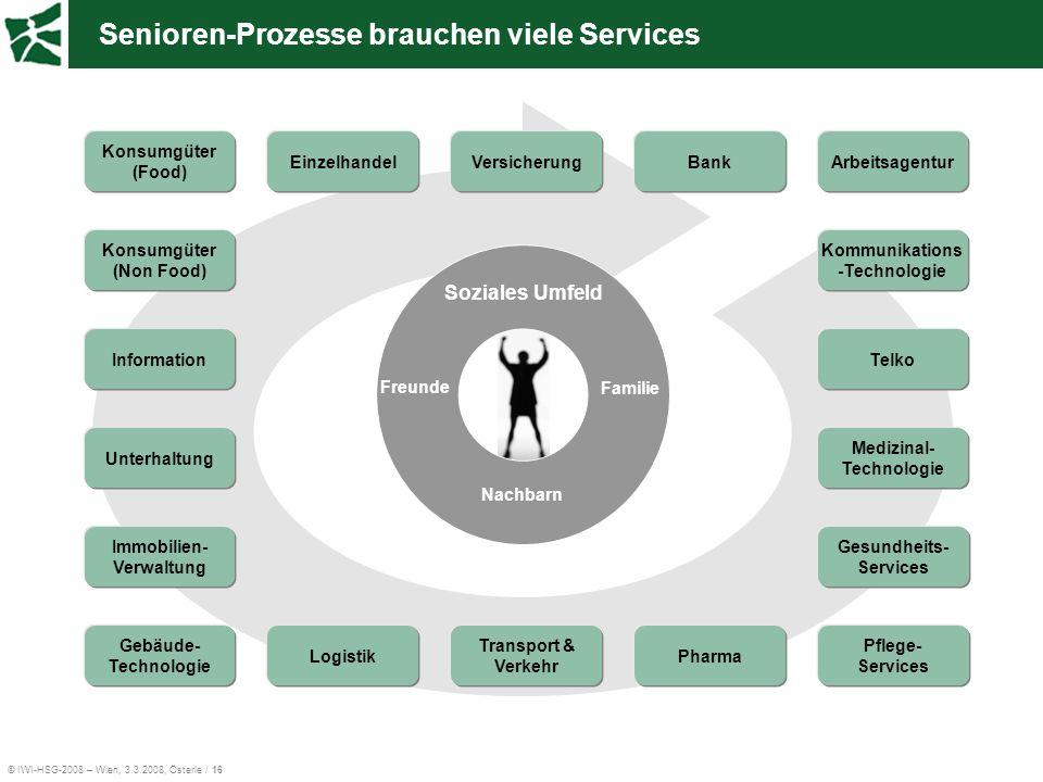 Senioren-Prozesse brauchen viele Services