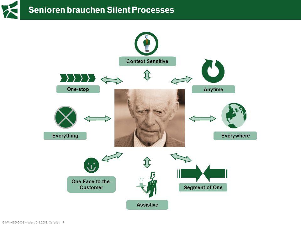 Senioren brauchen Silent Processes