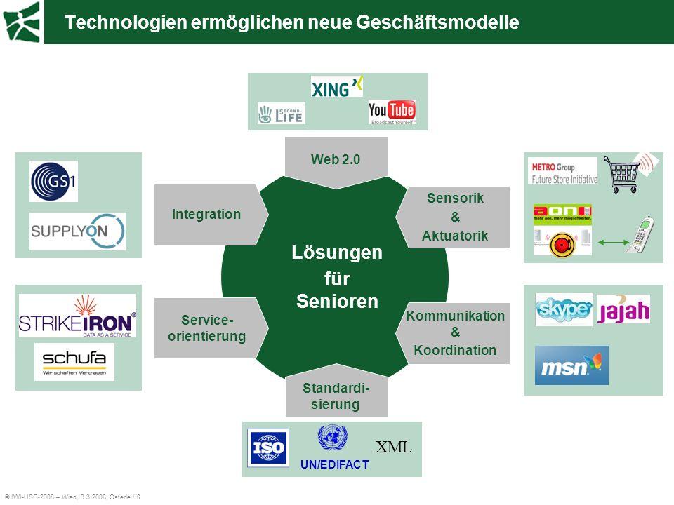 Technologien ermöglichen neue Geschäftsmodelle