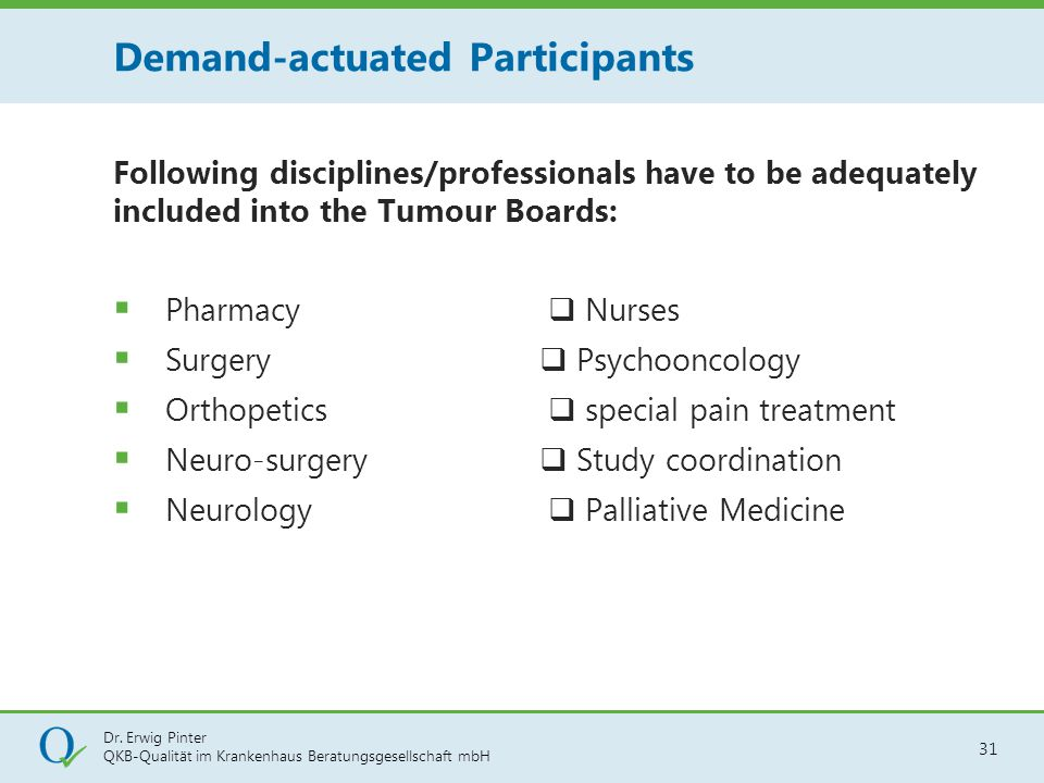Demand-actuated Participants