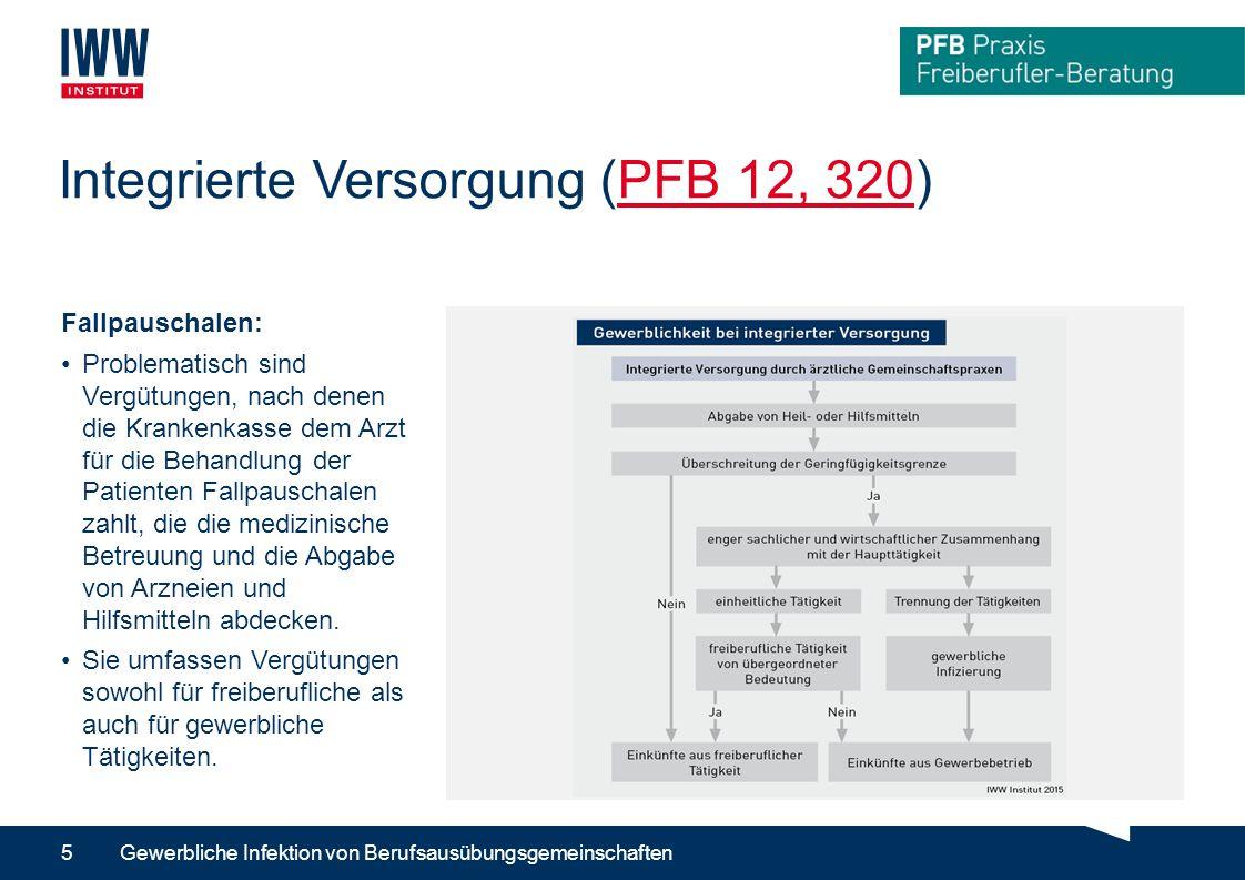 Integrierte Versorgung (PFB 12, 320)