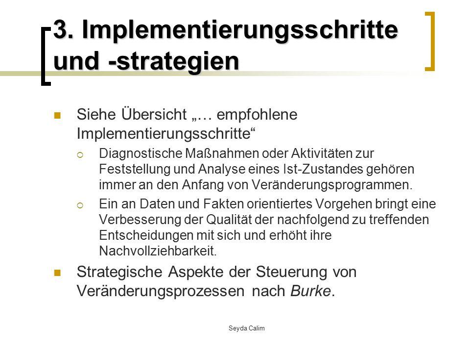 3. Implementierungsschritte und -strategien