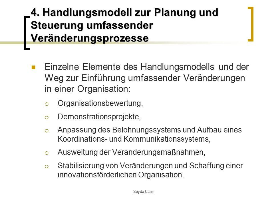 4. Handlungsmodell zur Planung und Steuerung umfassender Veränderungsprozesse