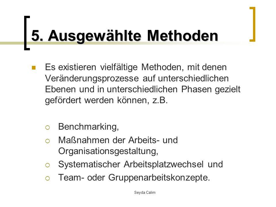 5. Ausgewählte Methoden
