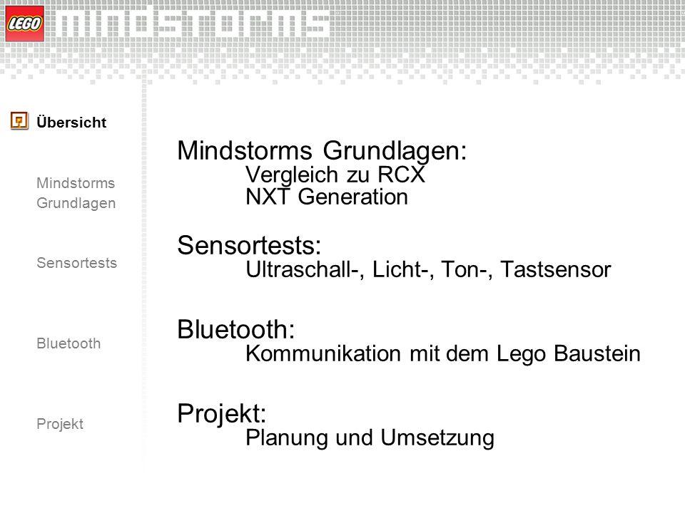 Mindstorms Grundlagen: