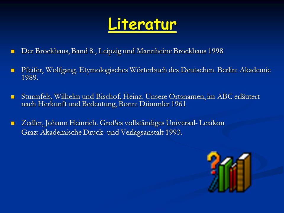 Literatur Der Brockhaus, Band 8., Leipzig und Mannheim: Brockhaus 1998