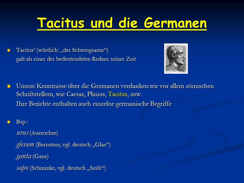 Tacitus und die Germanen