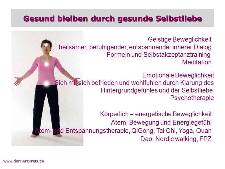 Gesund bleiben durch gesunde Selbstliebe