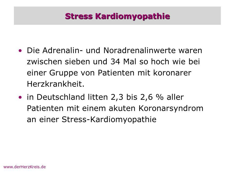 Stress Kardiomyopathie