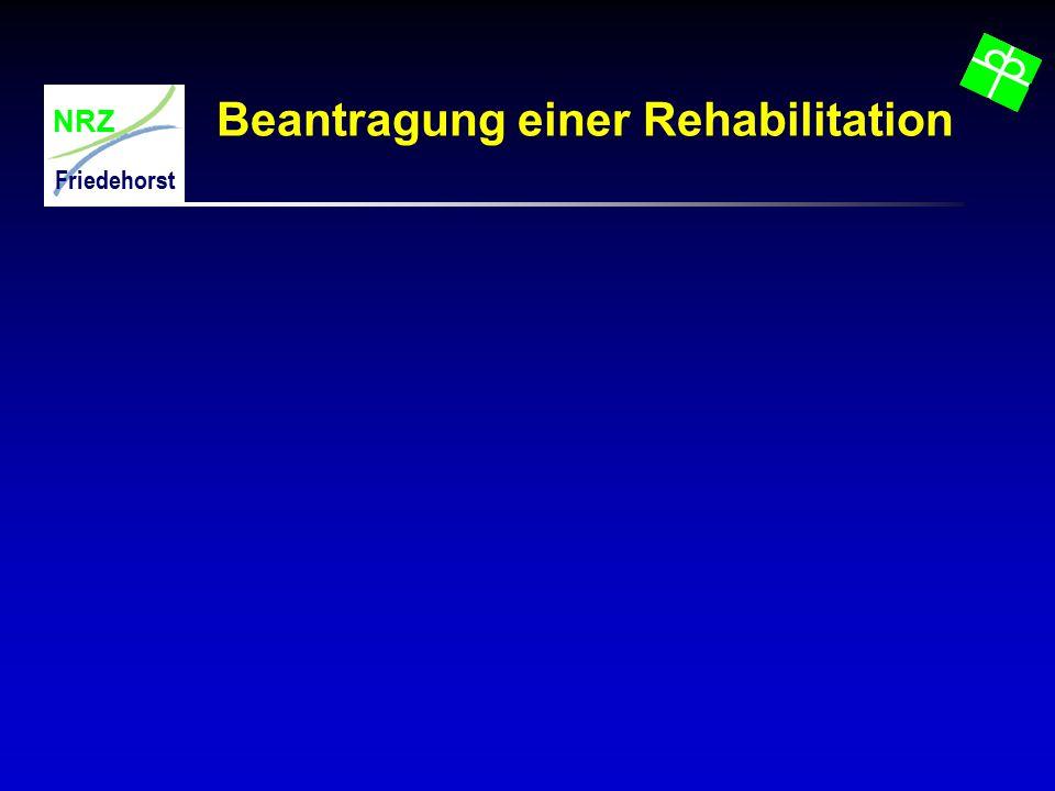 Beantragung einer Rehabilitation