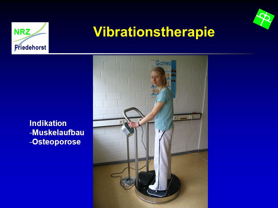 Vibrationstherapie Indikation Muskelaufbau Osteoporose
