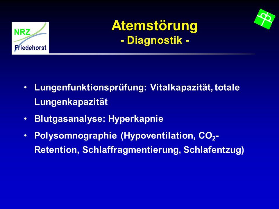 Atemstörung - Diagnostik -