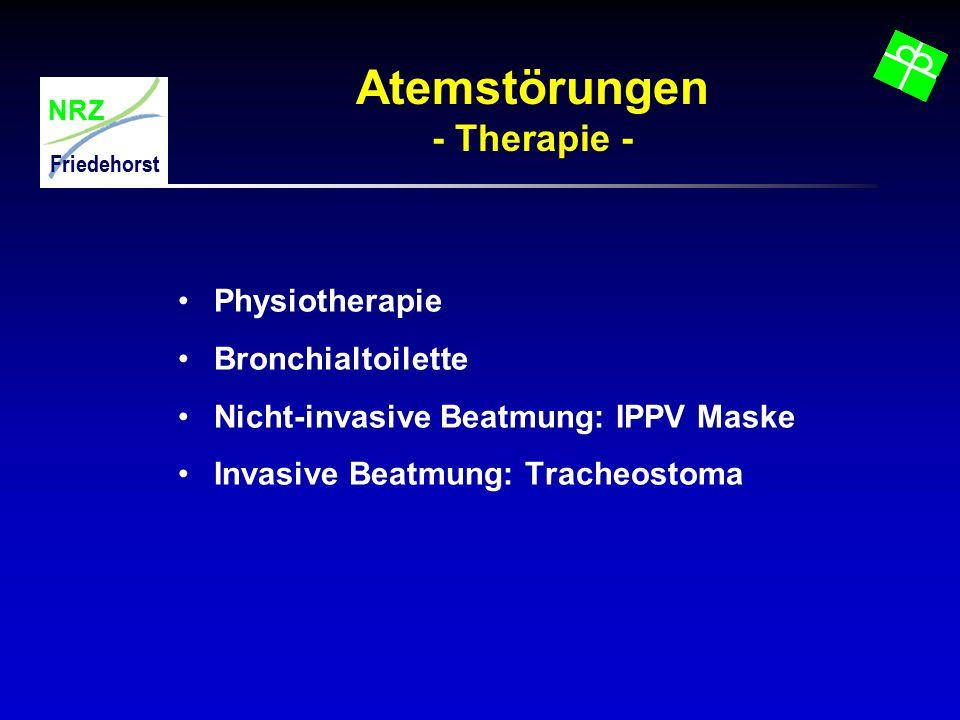 Atemstörungen - Therapie -