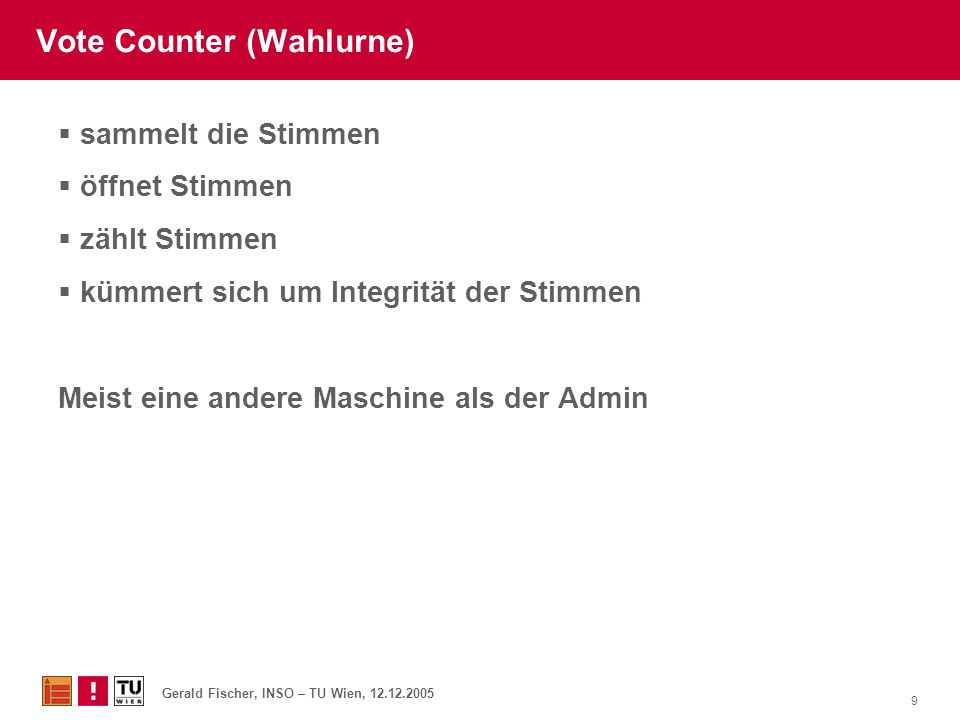 Vote Counter (Wahlurne)
