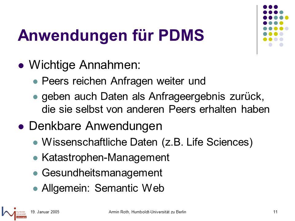 Armin Roth, Humboldt-Universität zu Berlin