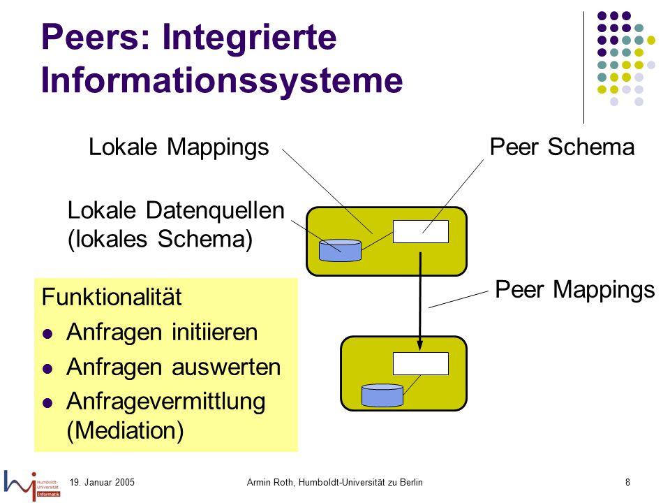 Peers: Integrierte Informationssysteme