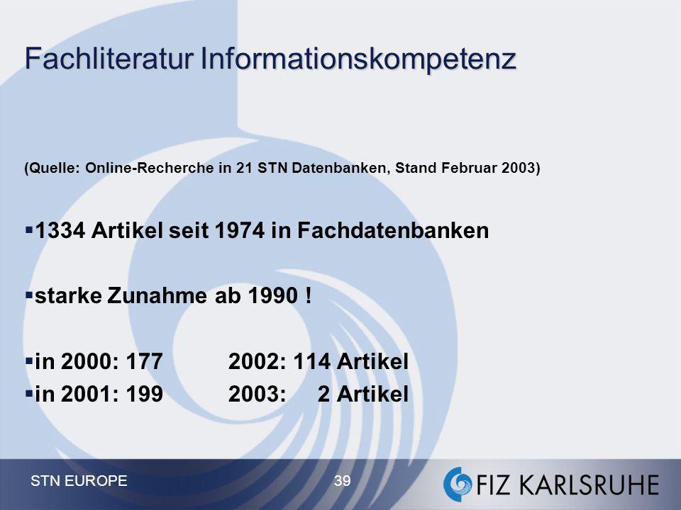 Fachliteratur Informationskompetenz