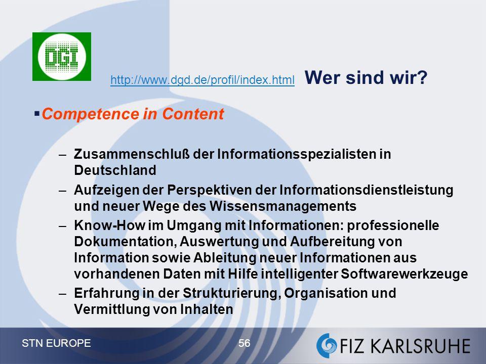 http://www.dgd.de/profil/index.html Wer sind wir