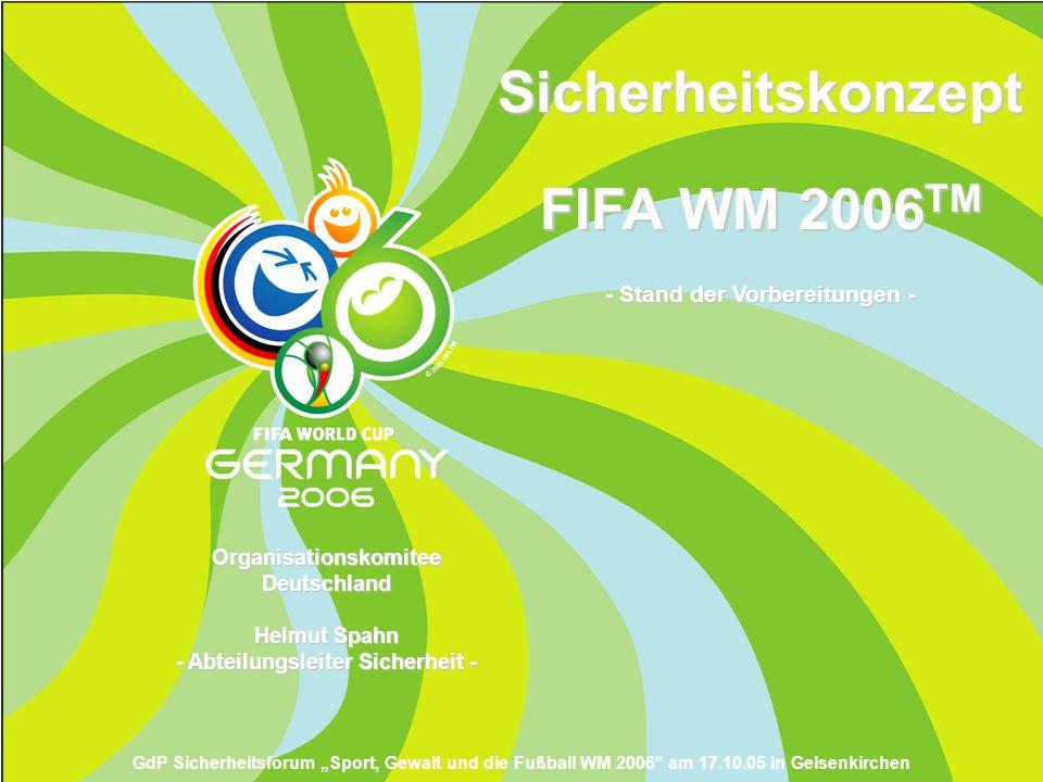 Sicherheitskonzept FIFA WM 2006TM