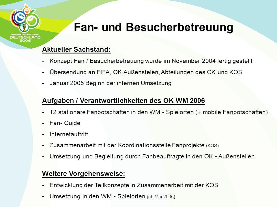 Fan- und Besucherbetreuung