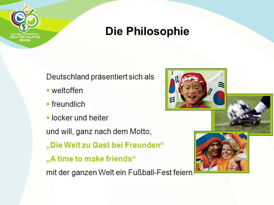 Die Philosophie Deutschland präsentiert sich als weltoffen freundlich