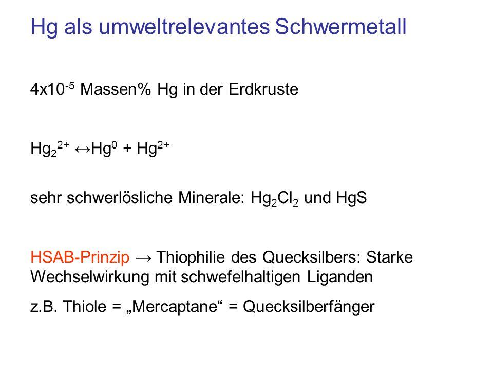 Hg als umweltrelevantes Schwermetall