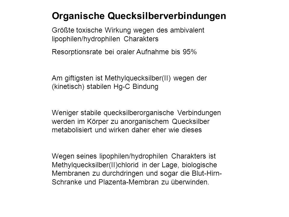 Organische Quecksilberverbindungen