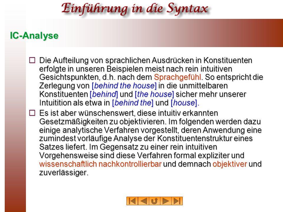 IC-Analyse