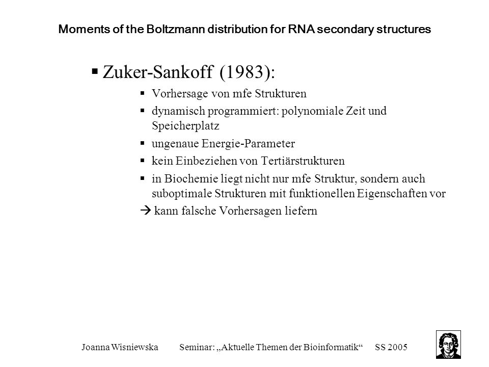 Moments of the Boltzmann distribution for RNA secondary structures