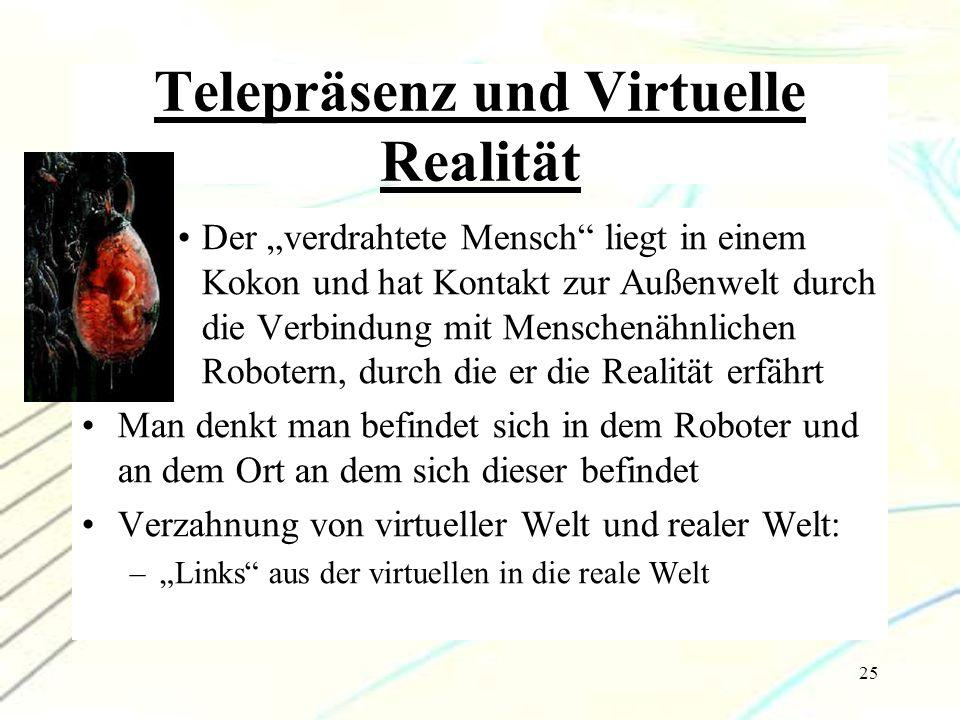 Telepräsenz und Virtuelle Realität