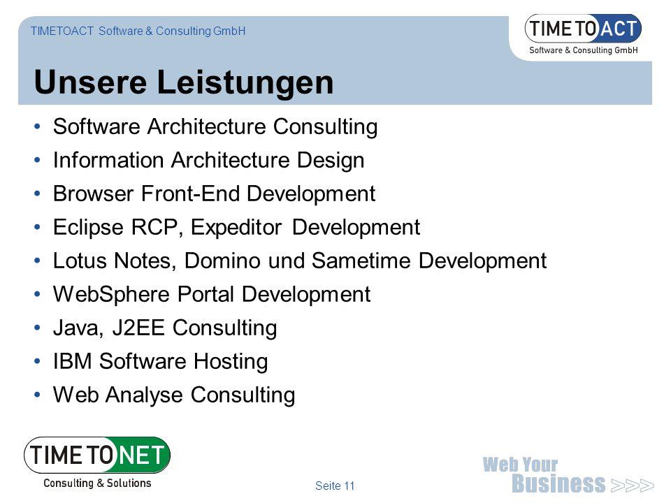 Unsere Leistungen Software Architecture Consulting