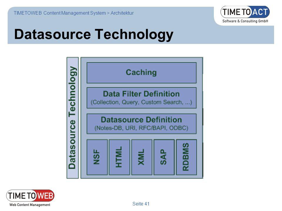 Datasource Technology