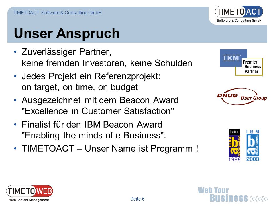 TIMETOACT Software & Consulting GmbH