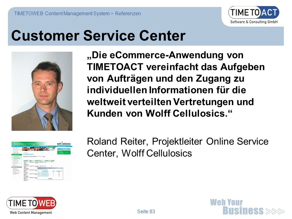 Customer Service Center