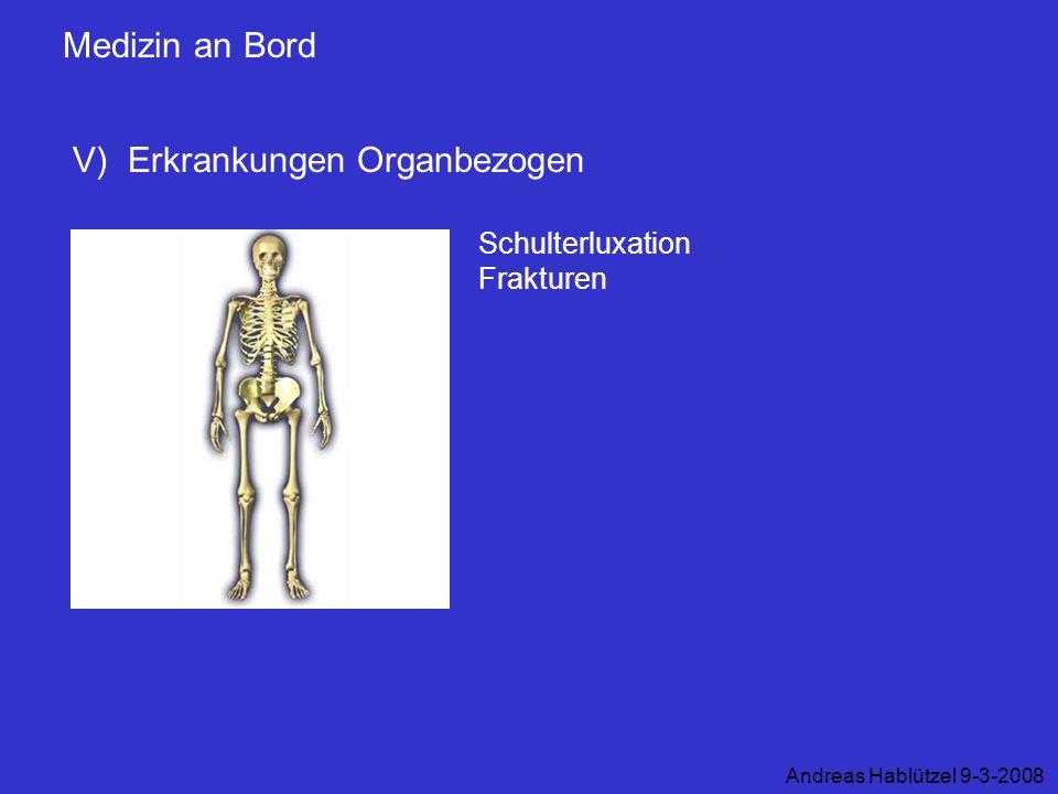 V) Erkrankungen Organbezogen