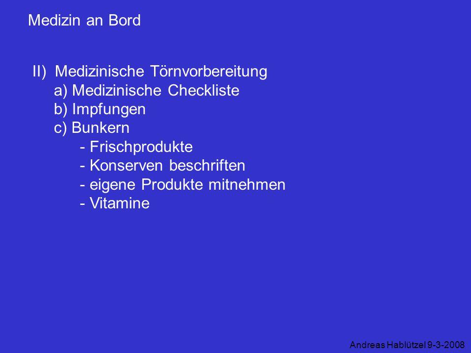 - Konserven beschriften - eigene Produkte mitnehmen - Vitamine