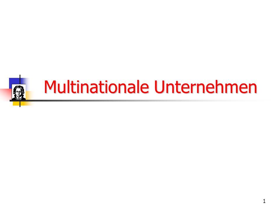 Multinationale Unternehmen