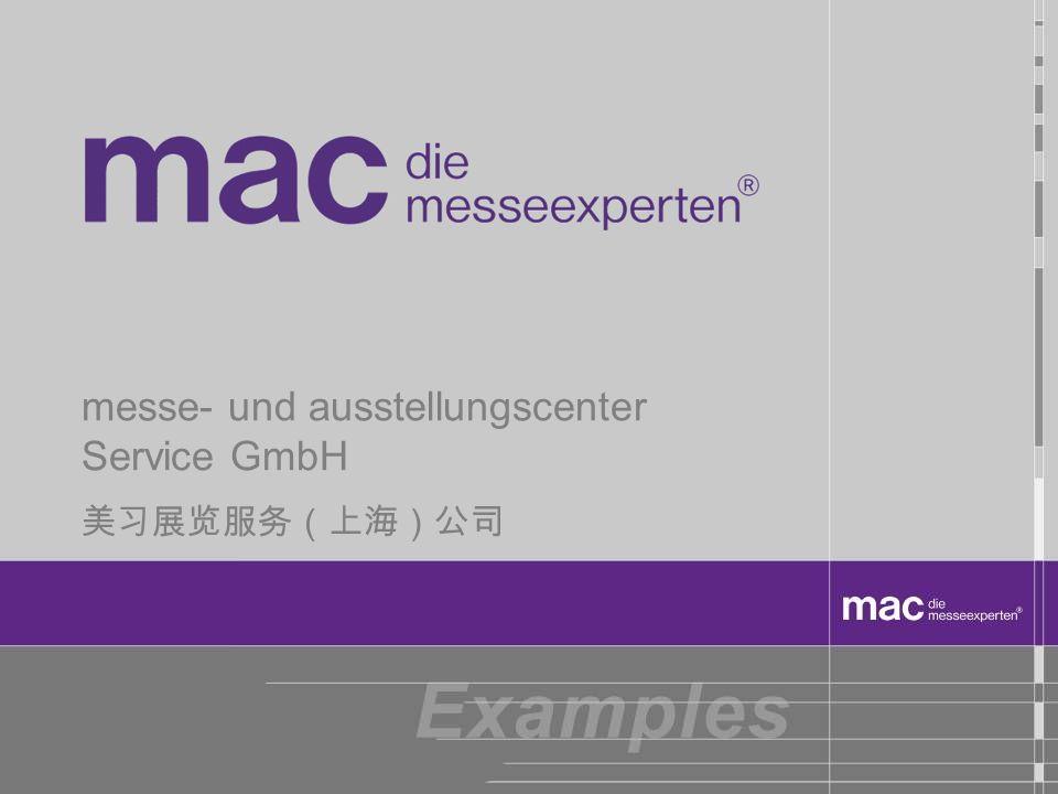 messe- und ausstellungscenter Service GmbH
