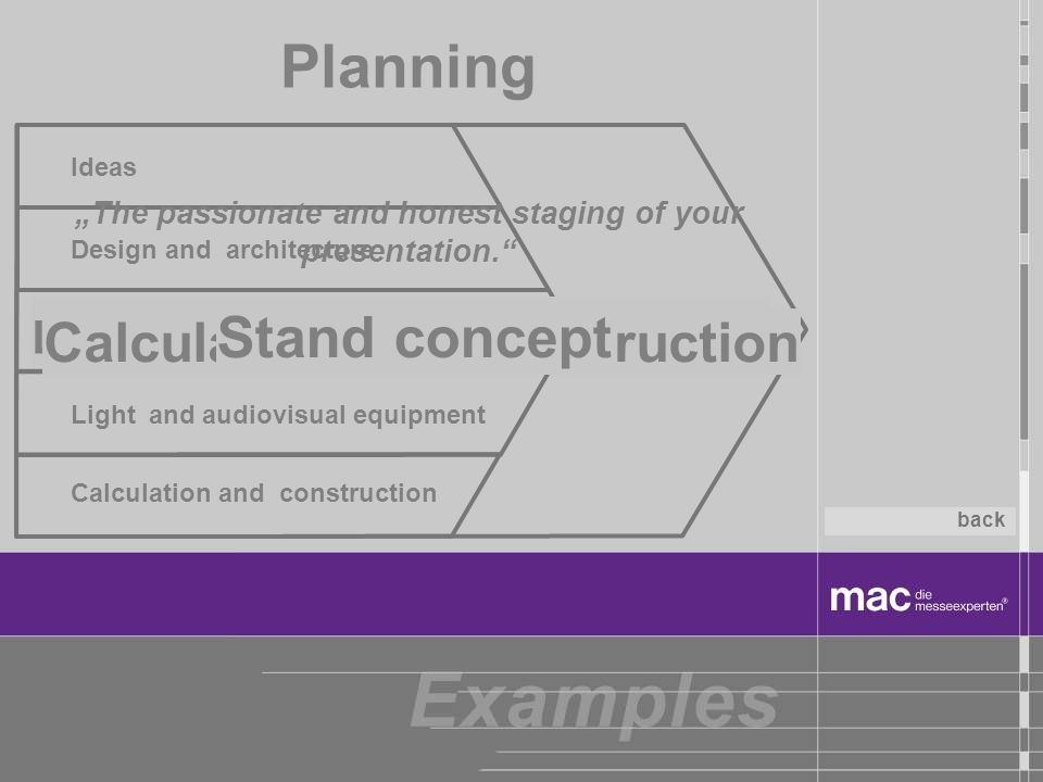 Planning Stand concept Graphics Ideas Design and architecture