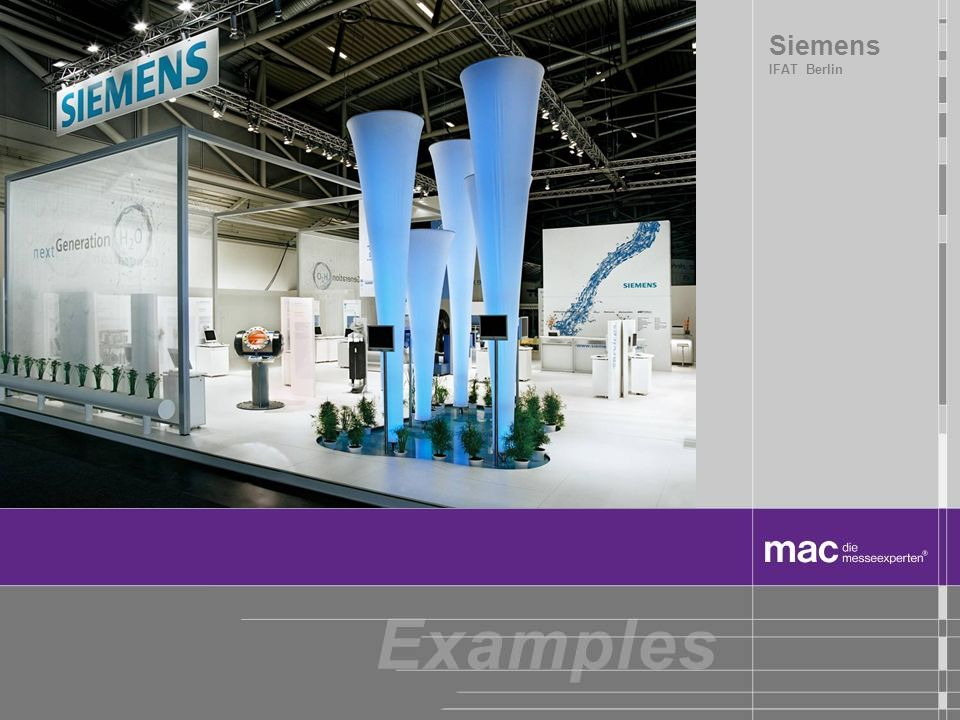 Siemens IFAT Berlin