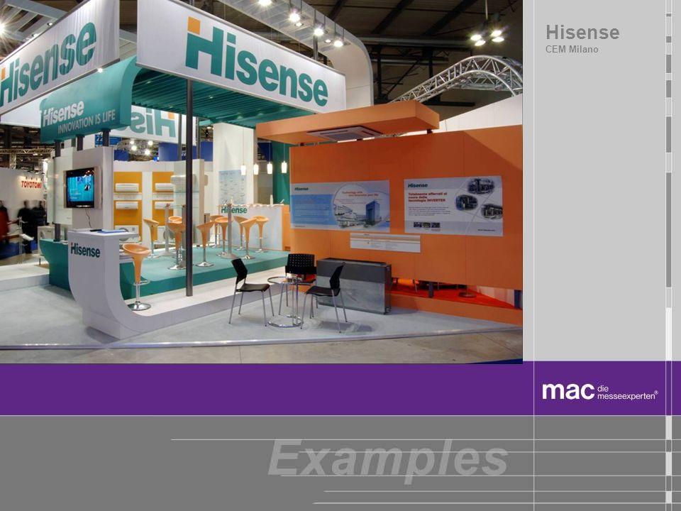 Hisense CEM Milano