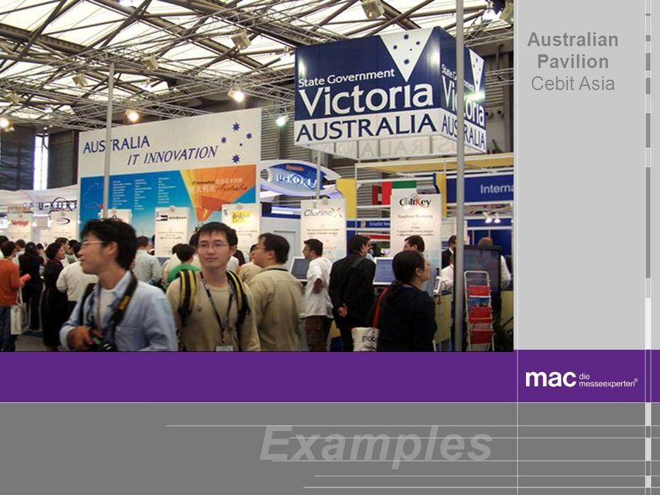 Australian Pavilion Cebit Asia