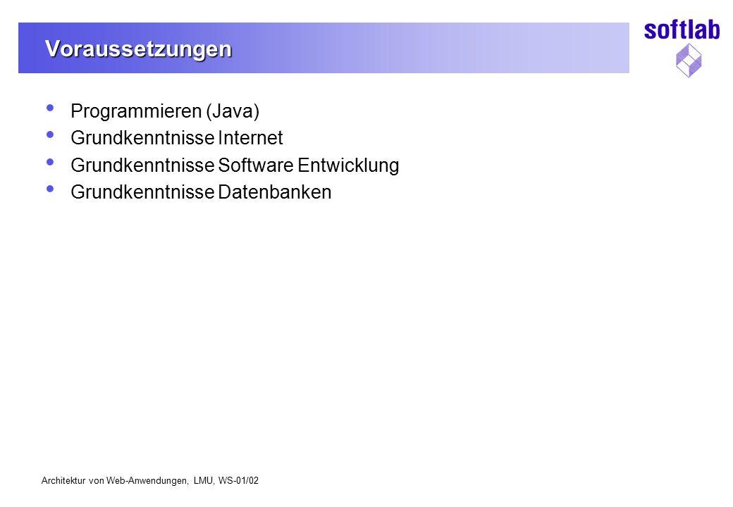 Voraussetzungen Programmieren (Java) Grundkenntnisse Internet