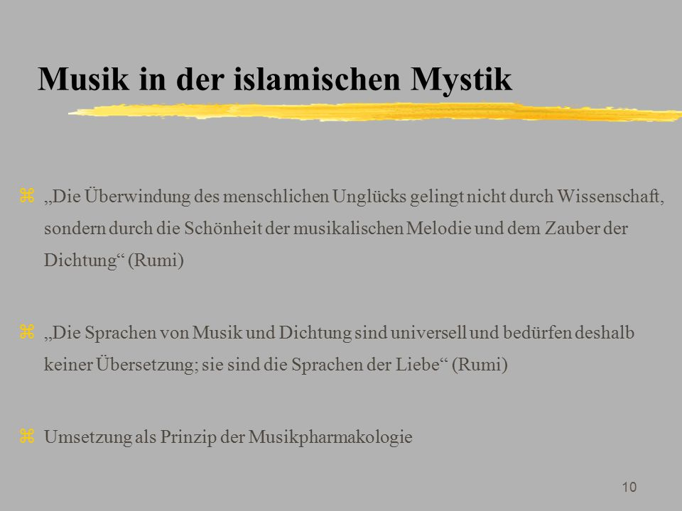 Musik in der islamischen Mystik