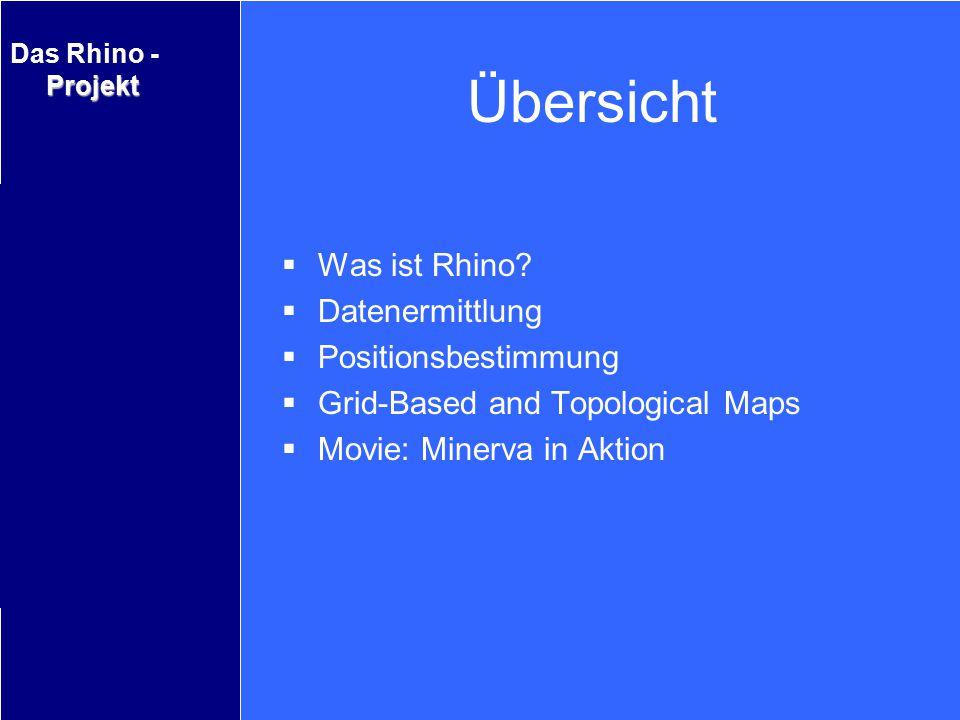 Übersicht Was ist Rhino Datenermittlung Positionsbestimmung
