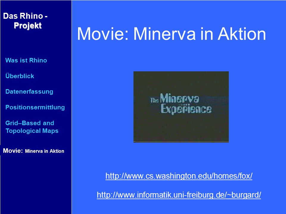 Movie: Minerva in Aktion