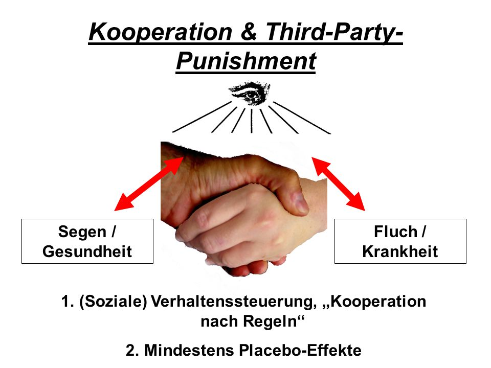 Kooperation & Third-Party-Punishment
